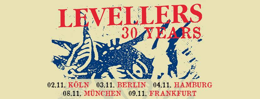 The Levellers – Luxor | Köln, 2.November2018
