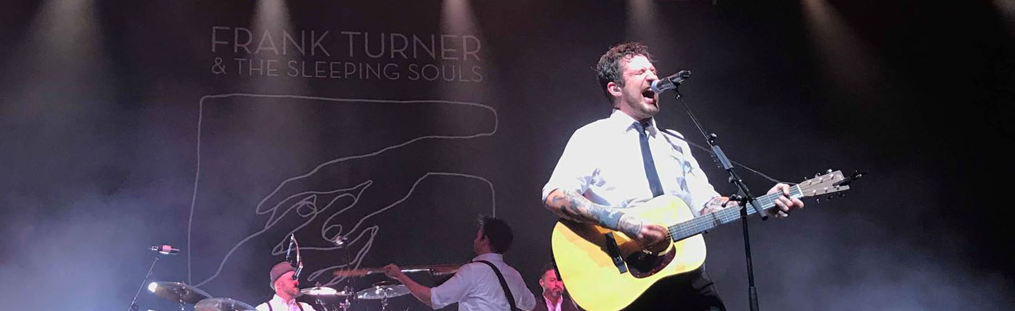 Frank Turner & The Sleeping Souls – MEH, Düsseldorf, 23.November2018